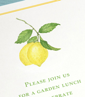 favorite lemon invites