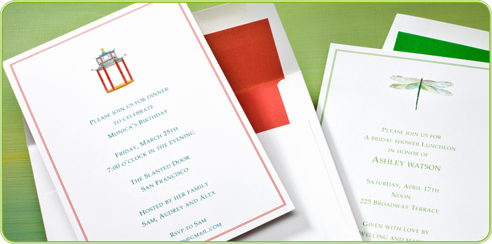 personalized invites