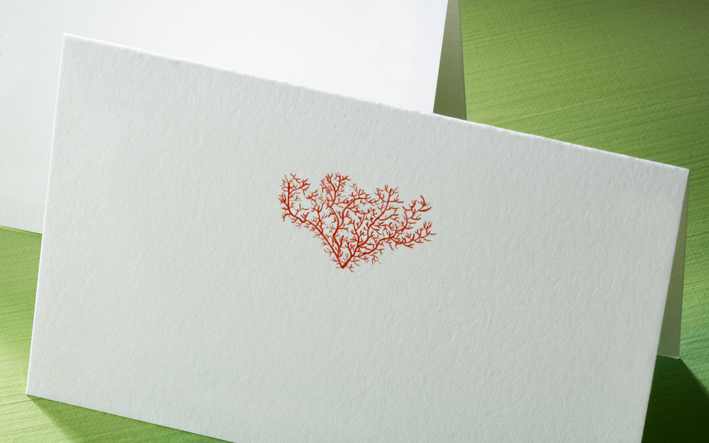 triple embossed cards