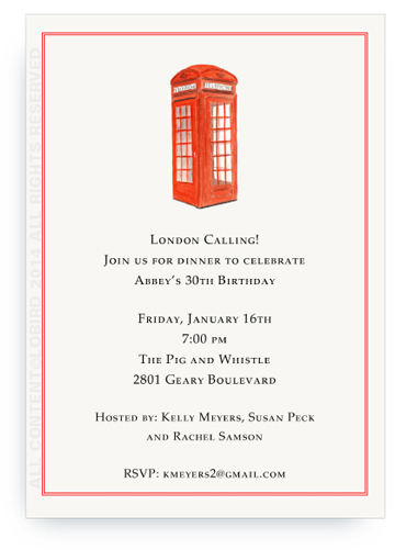 invite London Phonebooth
