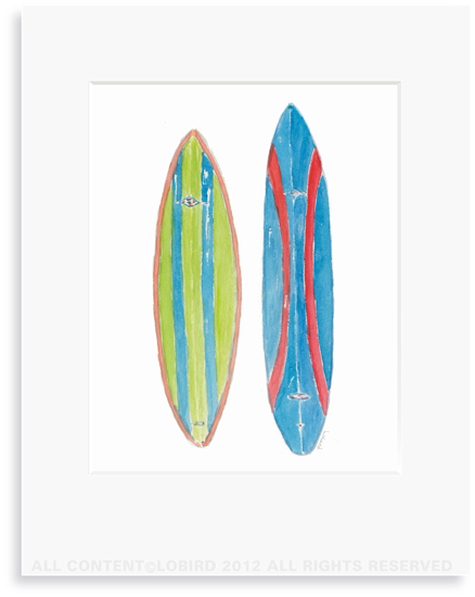 Double Corky Surfboard