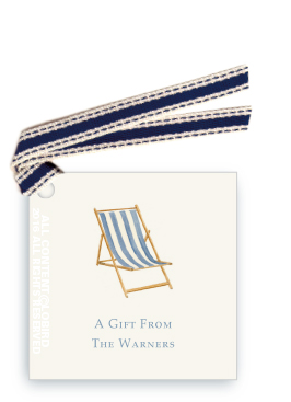 Beach Chair - Blue